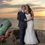 wedding culzean castle sunset video