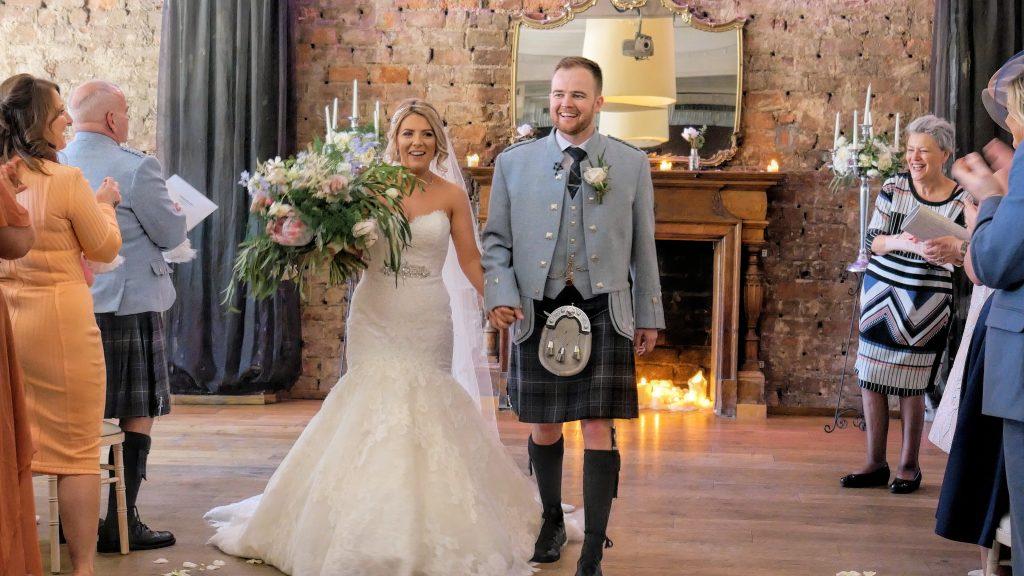 wedding video Ayrshire